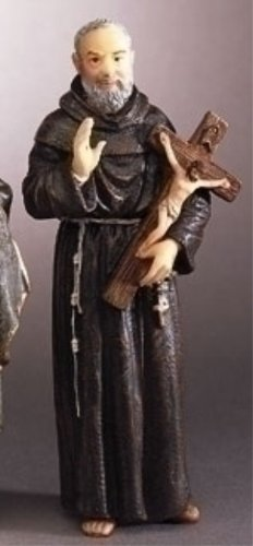 St. Pio (Padre Pio) Statue - 3.5