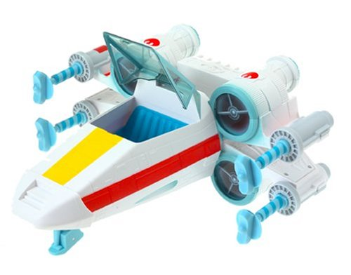 Star Wars Jedi Force Luke's X-Wing Fighter by Playskool