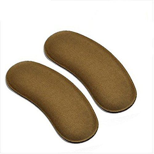 6Pairs Self--Adhesive Strong Sticky Fabric Shoe Back Heel Insoles Protector Liner Pads Cushion Grips Shoe Heel Liners