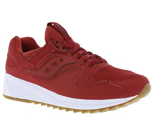 Grille Saucony 8500 Chaussures Hommes Espadrille Espadrilles S70286-6 Rouge