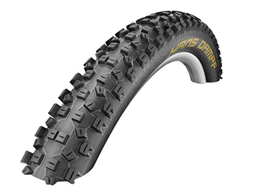 Schwalbe Hans Dampf HS 426 Super Gravity Tubeless Ready Mountain Bicycle Tire - Folding Bead (Black 01 - 29 x 2.35 - TrailStar)