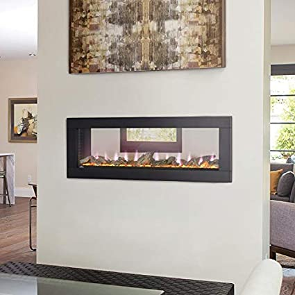 Amazon Com Napoleon Clearion Built In See Thru Electric Fireplace