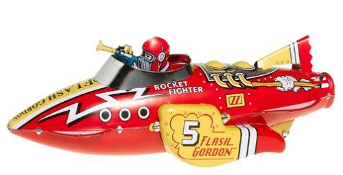 Flash Gordon Sparkling Rocket Fighter Ship