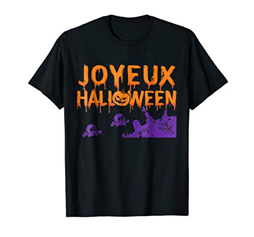 French HALLOWEEN SHIRT - Joyeux Halloween France Gift