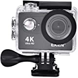 Acouto H9R Action Camera 12M 4K 2 Inch Screen 170°Wide Angle Waterproof Sport Camera Camcorder Head Cam Kits for Outdoor Surfing Cycling Riding ect
