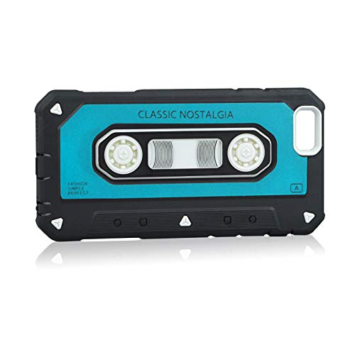 Case iPhone 8 iPhone 8 Plus Cassette Tape Back Soft Inside Cover Hard Outside Shell Case iPhone 8 iPhone 8 Plus (4, iPhone 8) (Cassette Tape Case For Iphone 4)