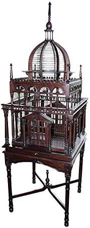 ジャービス商事 宮殿型鳥かご 15401 木製 インテリア オブジェ