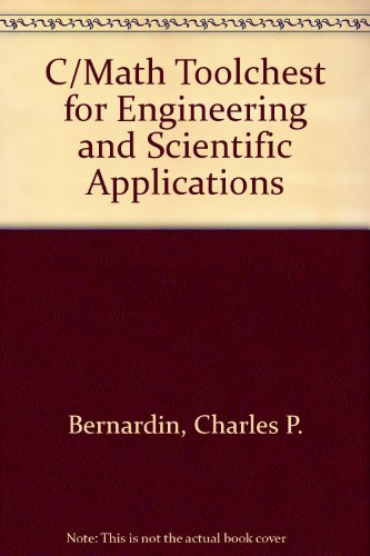 C/Math Toolchest for Engineering and Scientific Applications/Book&3 1/2 Disk