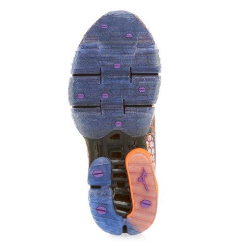 MIZUNO Wave Prophecy 3 Zapatilla de Running Señora Gris/Púrpura