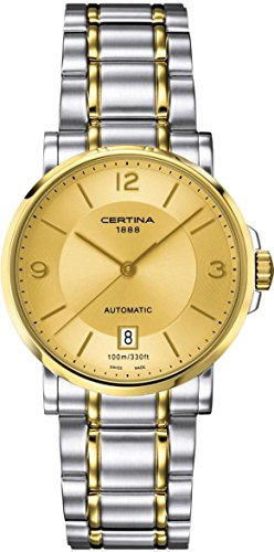 Certina DS Caimano Automatic Champange Dial Two-tone Mens Watch C017.407.22.027.00