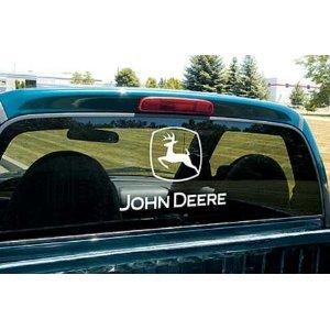 John Deere Rear Window Decal Large 12u0026quot ... Part 57