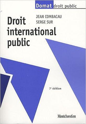 Livre gratuits en ligne Droit international public epub, pdf
