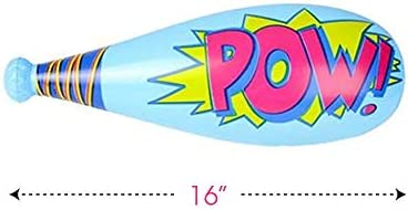Amazon.com: ArtCreativity POW Bates inflables de béisbol ...
