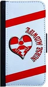 Samsung Galaxy S3 Flip Case, Midwife Nurse Design, Samsung Galaxy S3 Case/cover, Flap Case, Pocket Case, Book Style Case, Wallet Case, Bi-Fold Case, Proudly Made in the U.S.A. 156