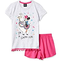 Pijama Camiseta, Disney, Meninas, Mescla