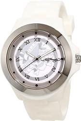 Ed Hardy Women's MT-LTD Mist White Watch
