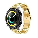 Fashion Clearance! Noopvan Samsung Gear Sport Straps,Replacement Accessory Stainless Steel Bracelet Wrist Strap Watch Band for Samsung Gear Sport Smartwatch (Gold)