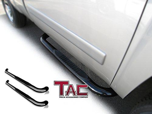 TAC Side Steps for 2009-2017 Dodge Ram 1500 Regular Cab / 2010-2017 Dodge Ram 2500/3500 Regular Cab 3