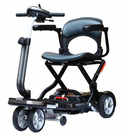 Heartway Medical Products S19-Z-16 Passport Folding Lightweight Travel Power Scooter - 11.5Ah Lithium Battery price