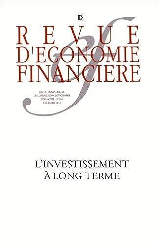 Book L'Investissement a Long Terme