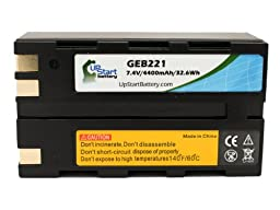 2x Pack - Leica GEB221 Battery - Replacement for Leica GEB221 Survey Instrument Battery (4400mAh, 7.4V, Lithium-Ion)