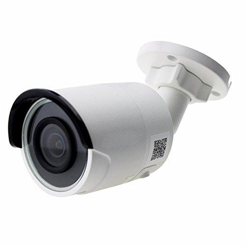 Hikvision 8MP 4K Bullet Camera, DS-2CD2085FWD-I 2.8mm Lens, POE IP67 Outdoor Security Surveillance IP Camera, ONVIF English Version