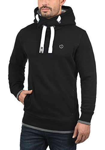 Polaire Doublure Teddy Pull Capuche À Benjaminhood solid Sweat Mit Pour Homme Black Hoodie futter FB8Fzq7w