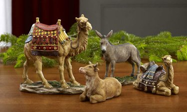 Three Kings Gifts Animal Set