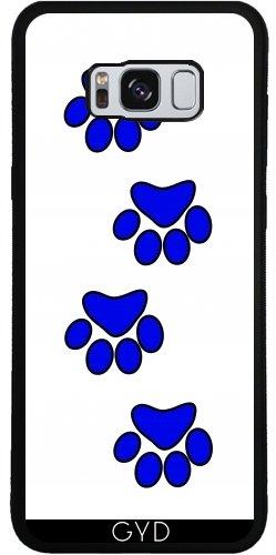Funda de silicona para Samsung Galaxy S8 (SM-G950) - Pata De Perro Azul. by loki1982