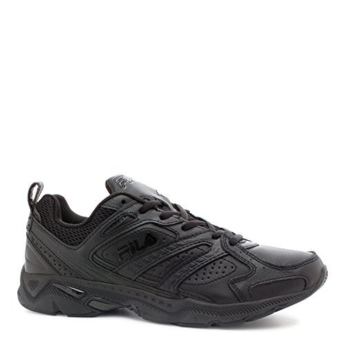 Fila Men's Capture Running Shoe,Triple Black,11.5 M (Fila Athletic Shoes)