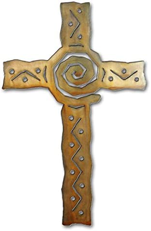 Southwest Cross – 24-inch – Rust