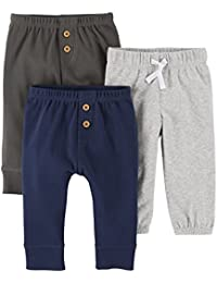 Baby Boys' 3 Pack Long Pants