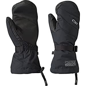 Outdoor Research Women's Highcamp Mitts, Black, Small