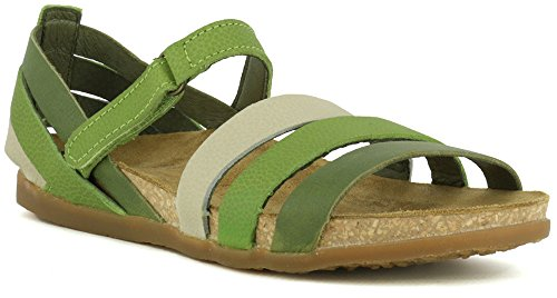 Sandalen Grass 36 Woman Gemischt Multi NF42 Leather Klettverschluss Multicolor Zumaia Hnwq8CZxB