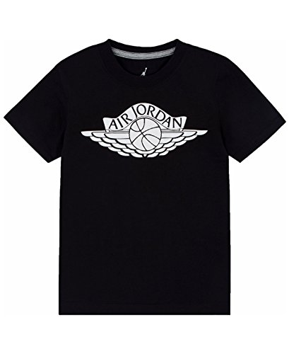 Jordan Air Boys Youth Fly Wings Cotton Basketball Tee T-Shirt Size L, XL (X-Large (13-15yrs))