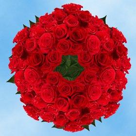 Global Rose 250 Fresh Cut Charlotte Roses
