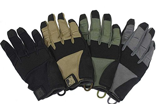 PIG Full Dexterity Tactical (FDT) Alpha Gloves - Carbon Grey - Medium