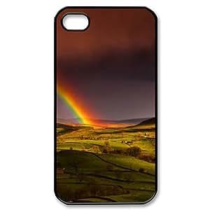 DIY Case for Iphone 4,4S - Rainbow ( WKK-R-67661 )