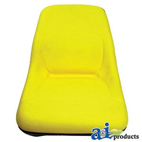 AM126865 Seat High Back Yellow Fits John Deere:LTR155,LTR166,LT133,LT155,LT166,