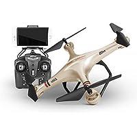 W&P Drone 350HW 4CH 2,4 G de 6 ejes con HD cámara RC QuadcopterFPV / iluminación LED / una clave para Auto-retorno / Auto-despegue / 360 ° balanceo