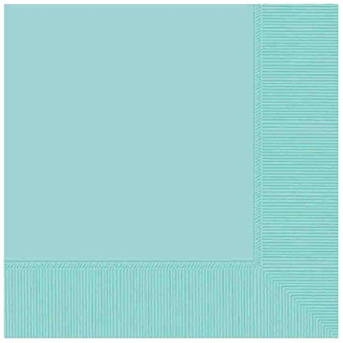 Robin's Egg Blue 2-Ply Dinner Napkins   Party Supply   240 ct.