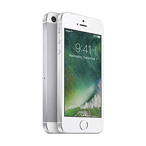 Apple iPhone SE, 16GB, Silver - For AT&T (Renewed)