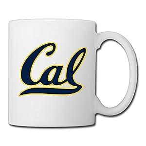Christina University Of California Berkeley Logo Ceramic Coffee Mug Tea Cup White