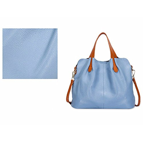 Bags Shoulder Leather Blue Leather Bag Women's Rosso Bag Shoulder Bag Hq4w5E