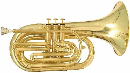 Blessing Marching Baritone Key of Bb w/Case Band-BM-301 by Blessing