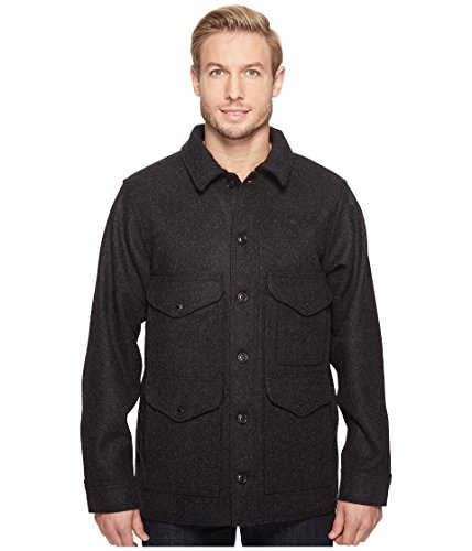 Filson Men's Mackinaw Crusier Charcoal Large