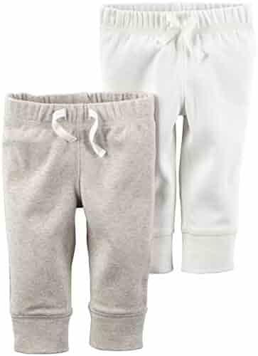 Carter's Unisex 2 Pack Jogging Pants (Baby)