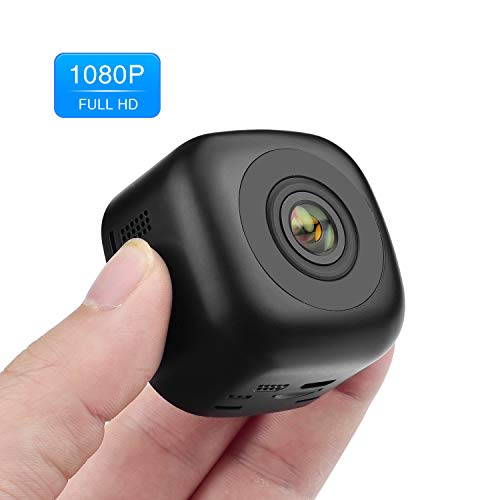 Mini Spy Hidden Camera, OUMEIOU 1080P Portable HD Spy Camera Nanny Camera Cop Cam Car Camera with Night Vision,Perfect Indoor Covert Security Camera for Home,Car,Drone and - Video Cameras High Quality