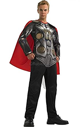 Thor Mens Deluxe Thor 2 Halloween Costume