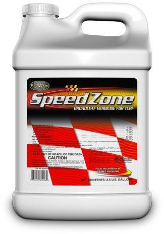 SpeedZone Lawn Weed Killer Boadleaf Herbicide 2.5 Gal.